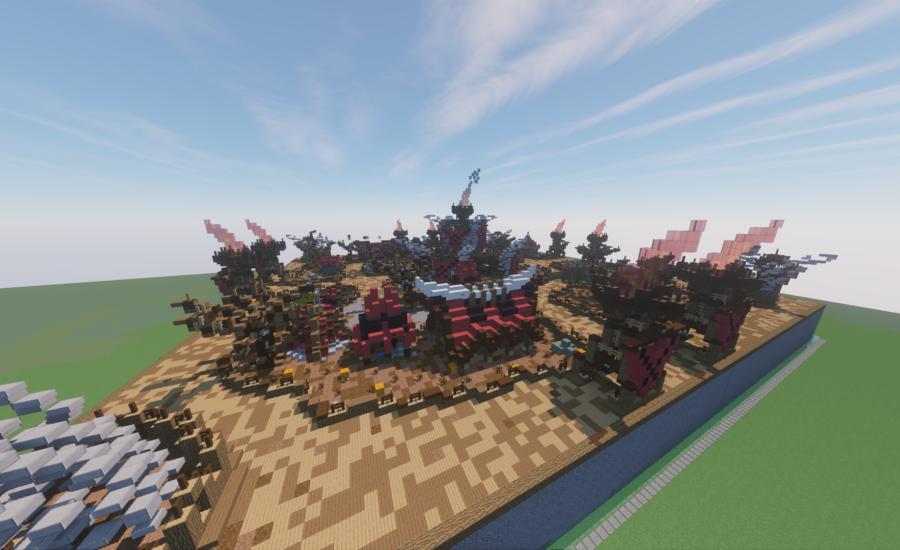 AntacPvP – A Unique Minecraft Factions Server