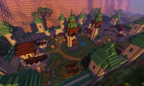 New Citadel Mc – A Towny Based Minecraft Server with Minigames and Events