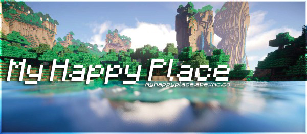 My Happy Place – OP Towny Minecraft Server with PvP enabled