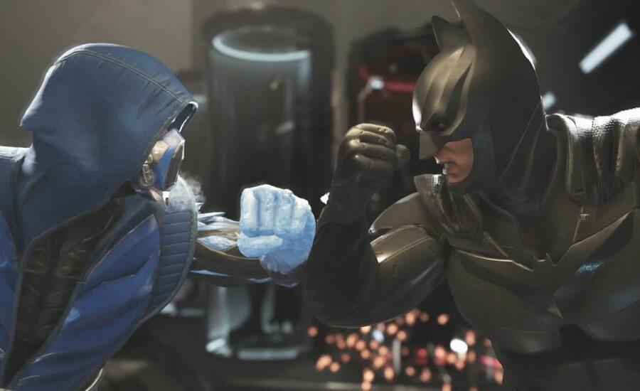 Subzero Vs Batman: Mortal Kombat Vs DC Universe