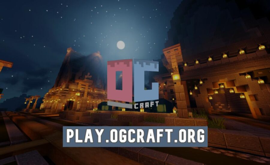 OGCraft – A Brand New Free-Build Survival Server with Toggle PvP!