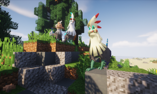 Become a Pokemon Trainer on This Minecraft Server
