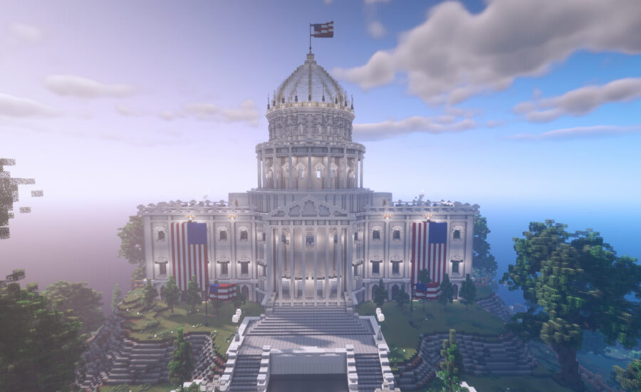 A Minecraft Voting Experience by Rock The Vote – Learn about the Electoral Process!