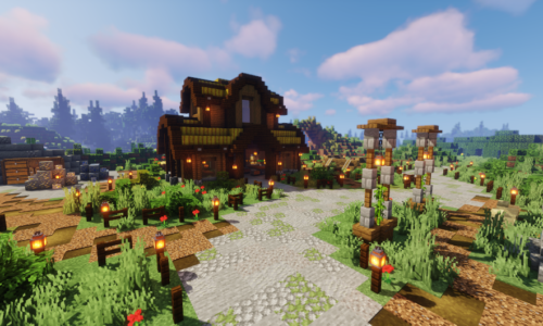 EclipseNationMC announces its huge relaunch of its Towny & Creative Server!