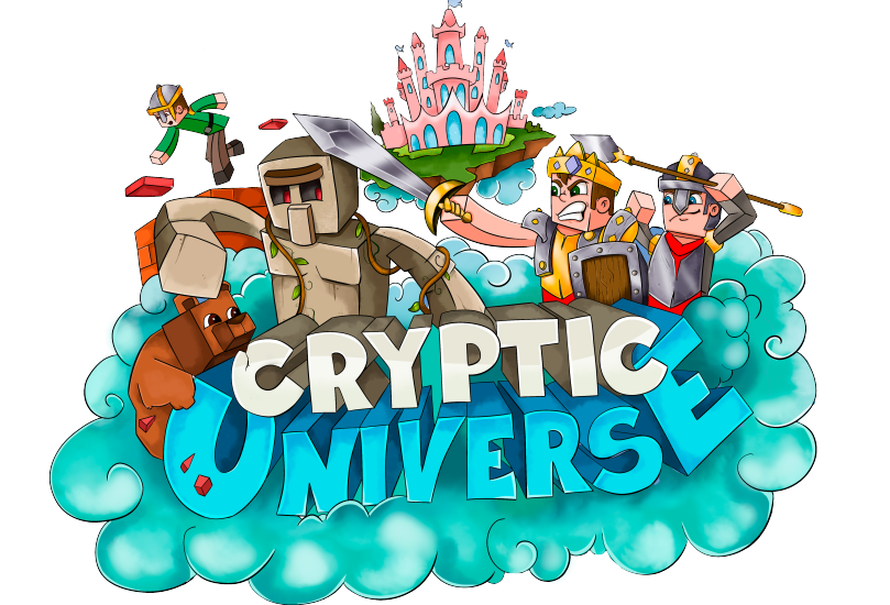 Cryptic Universe, A Minecraft Survival Server Featuring Various, Intricately Designed Features