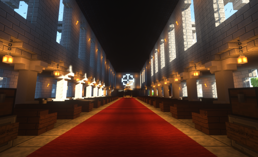 An Anarchy Minecraft Server That Cheat Clients Creators Play On
