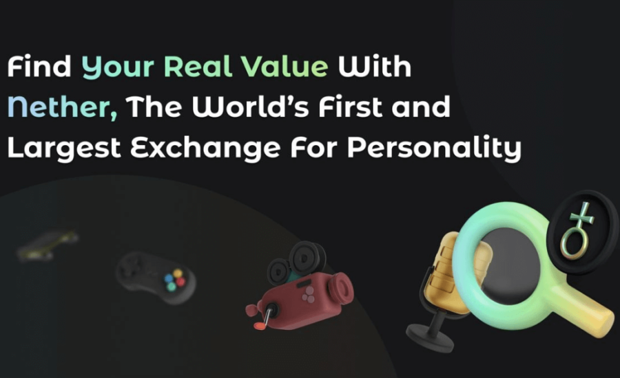 Nether is offering Masses with the World's First Personality Based NFT Marketplace